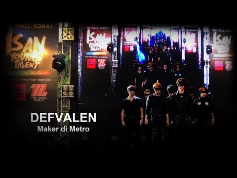 DEFVALEN Cover BTS at The Mall Korat - Isan Young Talent 2017