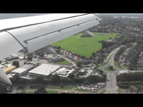 Thomson airways 7605 landing at Birmingham International Airport FULL HD