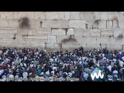 Thousands Gather at Kotel to Pray for Rain