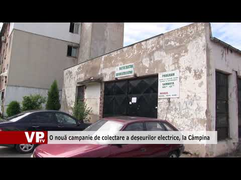 O nouă campanie de colectare a deșeurilor electrice, la Câmpina