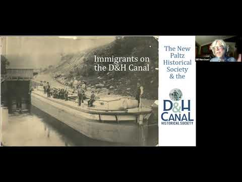 Immigrants on the D&H Canal