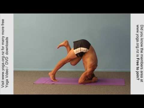 Head Stand  – Headstand yoga posture