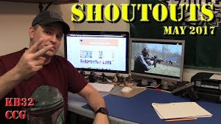 Today's shoutout video highlights two channels I think are doing great stuff...check them out, like, subscribe, and share.  Kotaboy32 Tactical Firearms Reviewhttps://www.youtube.com/channel/UCfsDR0U0OaZhVuPDs99XzeQConceal Carry Girlhttps://www.youtube.com/channel/UCvx9OLSVsKbeygjY0vTav-g