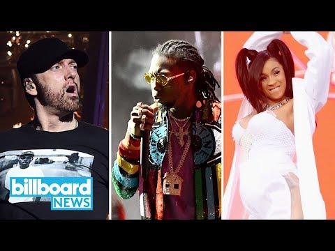 Eminem, Cardi B & Migos Close Out Coachella 2018   Billboard News
