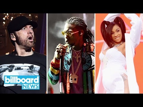 Eminem, Cardi B & Migos Close Out Coachella 2018 | Billboard News