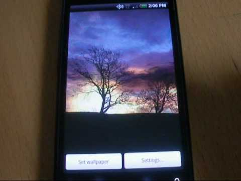 Video of Silhouette Live Wallpaper