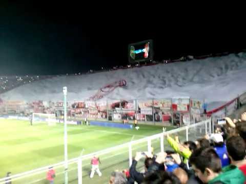 Bandera gigante  de Huracan Las Heras vs Boca Juniors - La Banda Nº 1 - Huracán Las Heras