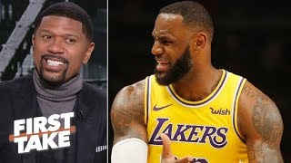 LeBron, Lakers aren't making the playoffs – Jalen Rose   First Take