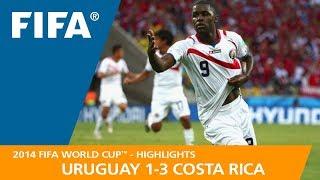 Video URUGUAY v COSTA RICA (1:3) - 2014 FIFA World Cup™ MP3, 3GP, MP4, WEBM, AVI, FLV Desember 2018