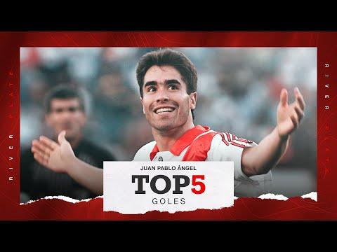 Top-5  GOLAZOS de Juan Pablo Ángel