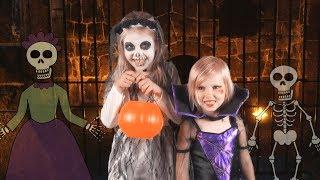 Halloween Night (Live Action Version) - Children's Halloween Song