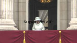 Queen Elizabeth II, Camilla, Duchess of Cornwall, Prince Charles, Prince of Wales, Prince William, Duke of Cambridge, Catherine, Duchess of Cambridge and Prince Harry at Diamond Jubilee - Carriage Procession And Balcony Appearance on June 05, 2012 in London, England Thanks for watching this video!Video Credit: Getty Images