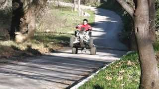 8. Can Am ds 450x WHEELIE