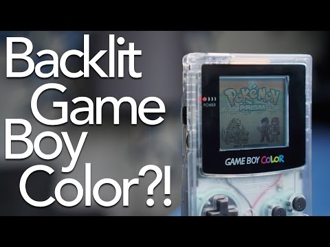 Game Boy Color Backlight Kit Review!