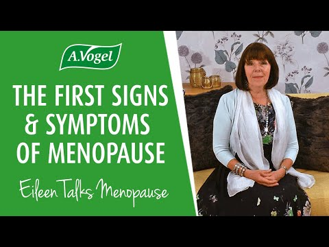 The first signs & symptoms of menopause