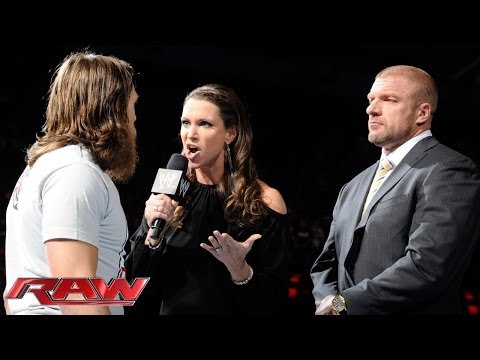 Daniel Bryan confronts The Authority: Raw, March 3, 2014