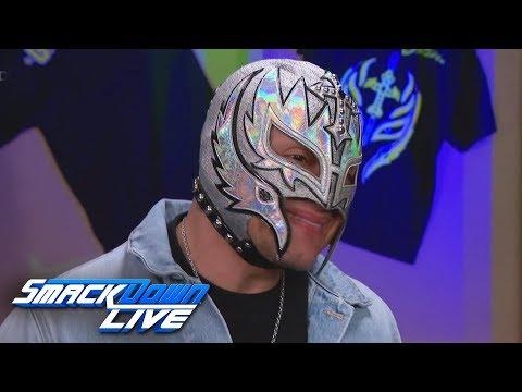 Rey Mysterio to challenge Samoa Joe at WrestleMania: SmackDown LIVE, March 19, 2019