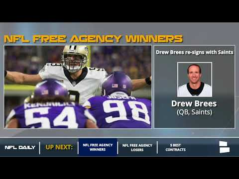 NFL Free Agency: 2018 Winners And Losers (видео)