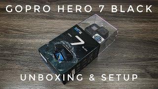 GoPro Hero 7 Black Unboxing & Setup