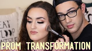PROM Makeup Transformation | MannyMua by Manny Mua