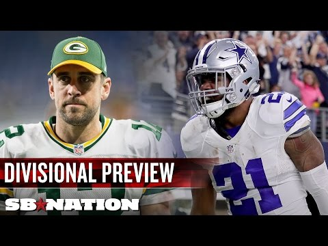 Video: NFL Divisional Round preview: Packers vs. Cowboys leads a slate of rematches | Uffsides