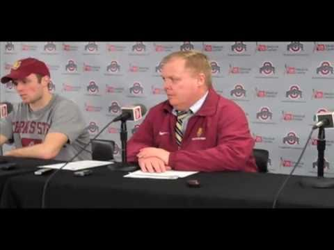 Bob Daniels & Chad Billins Post Game Press Conference 2/24/11
