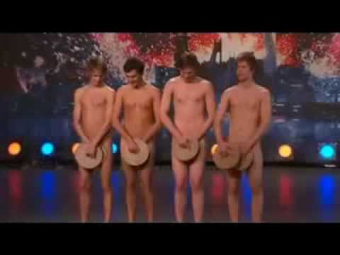 crisp - Sweden's Got Talent 2009 - The Crisp Bread Dance - with English subtitles! Four Swedish boys dancing naked on Sweden's Got Talent. The audience loves it. Ple...
