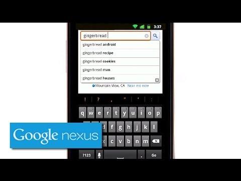 Explore Nexus S: Gingerbread Keyboard