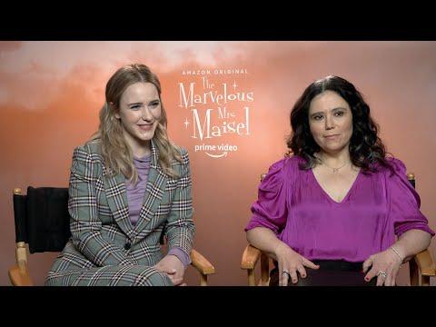 The Marvelous Mrs. Maisel Season 3: Rachel Brosnahan and Alex Borstein   Full Interview