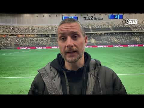 Axel Kjäll efter matchen mot Djurgården