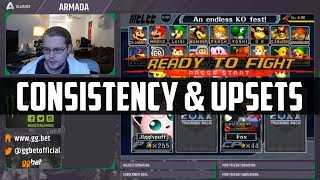 Armada on consistency and upsets in Melee and Smash 4
