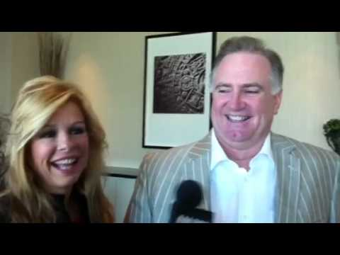 sean tuohy - Leigh Anne and Sean Tuohy, the Memphis, TN couple whose story of adoption became the 2009 movie The Blind Side, banter before their speaking engagement at th...