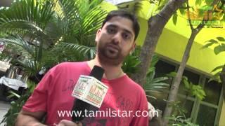 Music Director Sathish at Kabadam Movie Team Interview