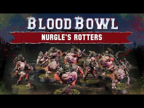 Blood Bowl - Nurgle's Rotters Teaser Trailer (видео)