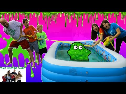 SLIME TUG OF WAR / That YouTub3 Family