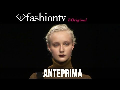 fashiontv - http://www.FashionTV.com/videos MILAN - FashionTV snags a seat in the front row of the Anteprima Fall/Winter 2014-15 show during Milan Fashion Week. Titled a...