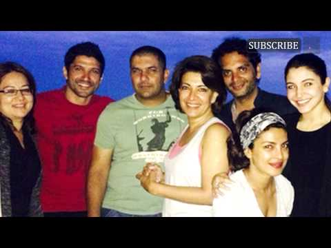 Anushka Sharma cruising with the Dil Dhadakne Do t