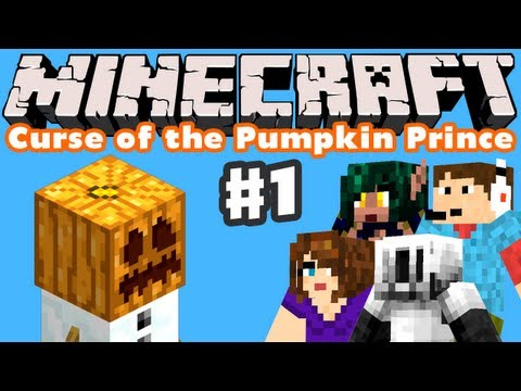 Minecraft: Curse of the Pumpkin Prince - Part 1 - The Adventure Begins!