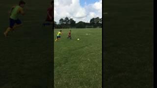 Stage 4 Gué-de-Selle, du 9 au 15 Juillet 2017- Conduite de balle, dribble et duels  pour les plus jeunes.