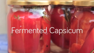 How to Make Fermented Capsicum