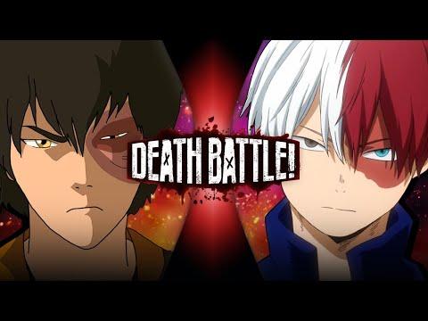 Zuko VS Shoto Todoroki (Avatar VS My Hero Academia) | DEATH BATTLE!