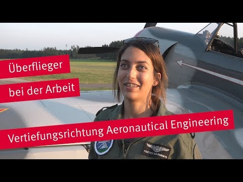 Fliegen im Studium?! Klar, mit Aeronautical Engineering