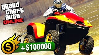 Grand Theft Auto Online - Premium Race Guide / Walkthrough Video in Full HDAll Premium Races Playlist:https://www.youtube.com/playlist?list=PLQ3KzJPBsAHkpUXskDb2n7o7QCmRjDx7j===================================Premium Race: Storm DrainVehicle used: Nagasaki Blazer Aqua (all upgrades maxed out)Entry fee: $20,0001st place: $100,0002nd place: $30,0003rd place: $20,000Forgotten to have your booster shots? Sporting any open wounds? Got any residual standards of personal hygiene or a functioning sense of smell? If the answer to any of those is 'yes' then this lap race for the Blazer Aqua through the LS River might not be for you. Otherwise, dive in.Premium race for the Blazer Aqua.===================================Video recorded on: PS4=================================== GTA Series Videos is a dedicated fan-channel keeping you up to date with all the latest news, video walkthroughs and official trailers of the most successful video games published by Rockstar Games, including Grand Theft Auto series, Red Dead Redemption, Max Payne, L.A. Noire, Bully and many others.This channel is in no way tied to Rockstar Games or Take-Two Interactive.Follow GTA Series Videos on: YouTube - http://www.youtube.com/GTASeriesVideos Google+ - http://www.google.com/+GTASeriesVideos Facebook - http://www.facebook.com/GTASeriesNews Twitter - http://www.twitter.com/GTASeriesFor more info and videos visit:http://www.GTASeriesVideos.com  http://www.GTA-Series.com  http://www.GTA-Downloads.com  http://www.Games-Series.com