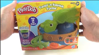 UnboxingToyCollector Presents: Spin the Twist 'n Squish Turtle to choose the shape you want and fill its shell with softer, smoother Play-Doh Plus compound. Then squish down and pop out the shape! There are 12 shapes to make and 2 colors of Play-Doh Plus compound to choose from.UnboxingToyCollector produces family friendly content! Regularly featuring, Play Doh Ice Cream Shop, Play Doh Supermarket story fruits and vegetables, Pizzas and Hamburger sets! We also feature Frozen, Elsa, Anna, Olaf, Timmy Time, Paw Patrol, Peppa Pig and Ben & Holly toys!•••••••• Watch UnboxingToyCollector on YouTube: https://www.youtube.com/channel/UCHjB...Unboxing Play Doh Sundae Station Ice Cream Sweet Treats Playset Sundae Swirls! https://www.youtube.com/watch?v=5xgih...Unboxing PlayDoh Ice Cream Sundae Treats Dessert Play Doh Play-set https://www.youtube.com/watch?v=kVGKe...Unboxing Paw Patrol Rocky Saves Bettina the Cow Rescue Set https://www.youtube.com/watch?v=P3ygx...Unboxing Paw Patrol Marshall & Baby Whale Rescue Set https://www.youtube.com/watch?v=vvWbt...Unboxing NEW Paw Patrol Air Rescue Action Figures, Chase, Marshall, Sky, Rocky, Rubble and Zumahttps://www.youtube.com/edit?o=U&vide...https://www.youtube.com/watch?v=iCWtN...Unboxing PlayDoh Town Police Boy New Play-Doh Town Series Unboxing Play-Doh Town Pizza Delivery NEW Play Doh Town Playset https://www.youtube.com/watch?v=FBWfk...•••••••• Watch more Unboxing Play-Doh!https://www.youtube.com/playlist?list...Play Doh Twirl 'n top Pizza Shop Pizzeria Playset - Make Pizzas with Playdough https://www.youtube.com/watch?v=-se69...https://www.youtube.com/watch?v=ayQJF...Unboxing Peppa Pig Mega Dough Set Play Doh Peppa Toys Shapes Colors Cookies Fruits VegetablePlay-Doh and all related properties are trademarks of Hasbro. DocMcStuffins and all related characters are trademarks of Hasbro.