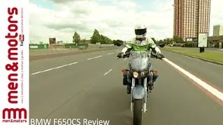 2. BMW F650CS Review