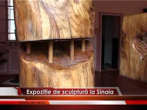Expoziţie de sculptură la Sinaia – VIDEO