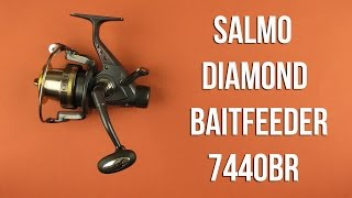 катушка нахлыст salmo diamond fly