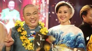 Gia Bảo khóc khi trở thành quán quân Cười xuyên Việt(Tin tức Sao Việt), cuoi xuyen viet, cười xuyên việt 2016, gameshow cười xuyên việt