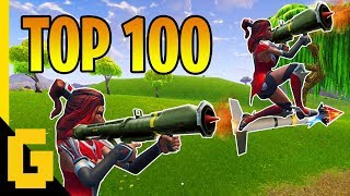Download Video TOP 100 BEST PLAYS IN FORTNITE - Epic moments compilation of 2018 MP3 3GP MP4