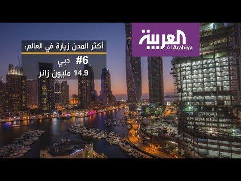 العرب اليوم - دبي بين أكثر المدن زيارة في العالم